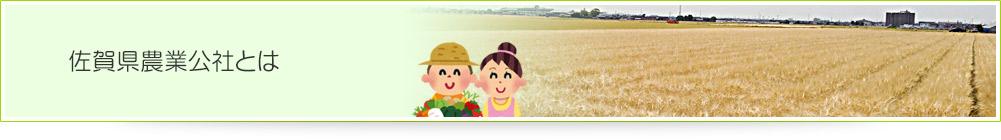 佐賀県農業公社とは